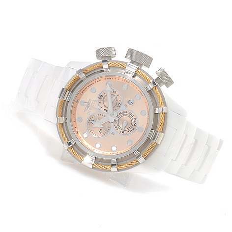 622-033 - Invicta Men's Bolt Quartz Chronograph Ceramic Bracelet Watch