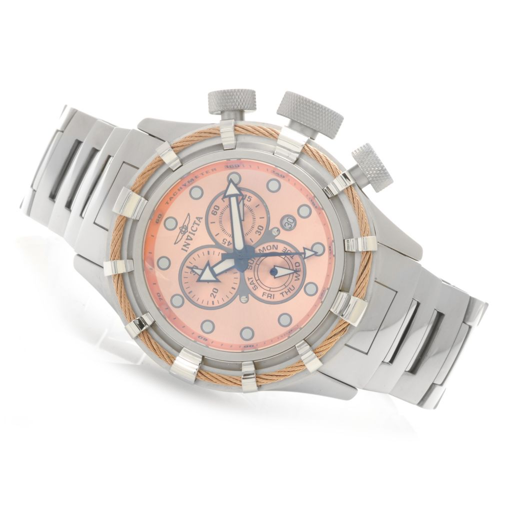 622-034 - Invicta Men's Bolt Quartz Chronograph Ceramic Bracelet Watch