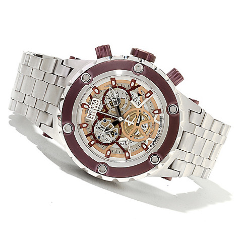 622-036 - Invicta Reserve Men's Specialty Subaqua COSC Swiss Made Quartz Chronograph Bracelet Watch