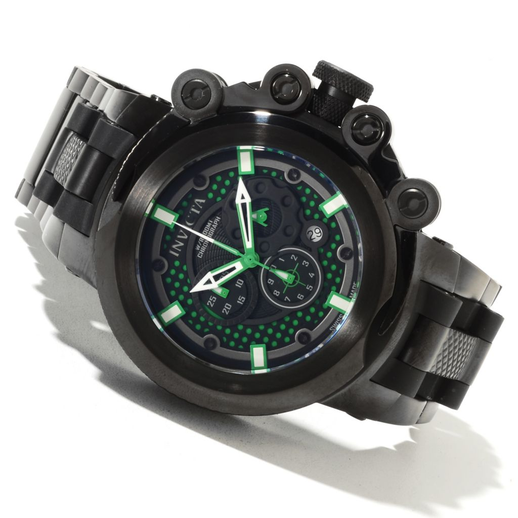 622-039 - Invicta Men's Coalition Force Trigger Black Label Swiss Chronograph Bracelet Watch