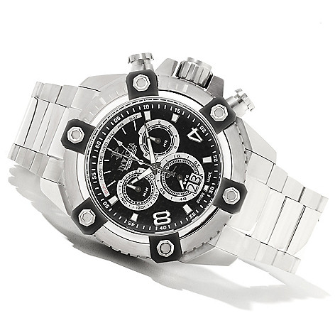 622-043 - Invicta Reserve Men's Grand Arsenal Swiss Quartz Chronograph Bracelet Watch