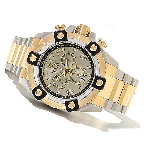 622-045 - Invicta Reserve 63mm Grand Octane Swiss Made Quartz Chronograph Bracelet Watch