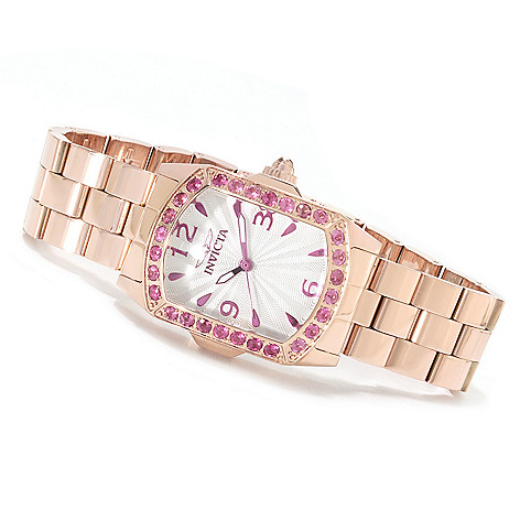622-059 - Invicta Lady Lupah Exotic Gemstone Limited Edition Stainless Steel Bracelet Watch