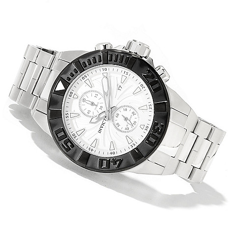 622-066 - Invicta Men's Pro Diver Spider Quartz Chronograph Stainless Steel Bracelet Watch