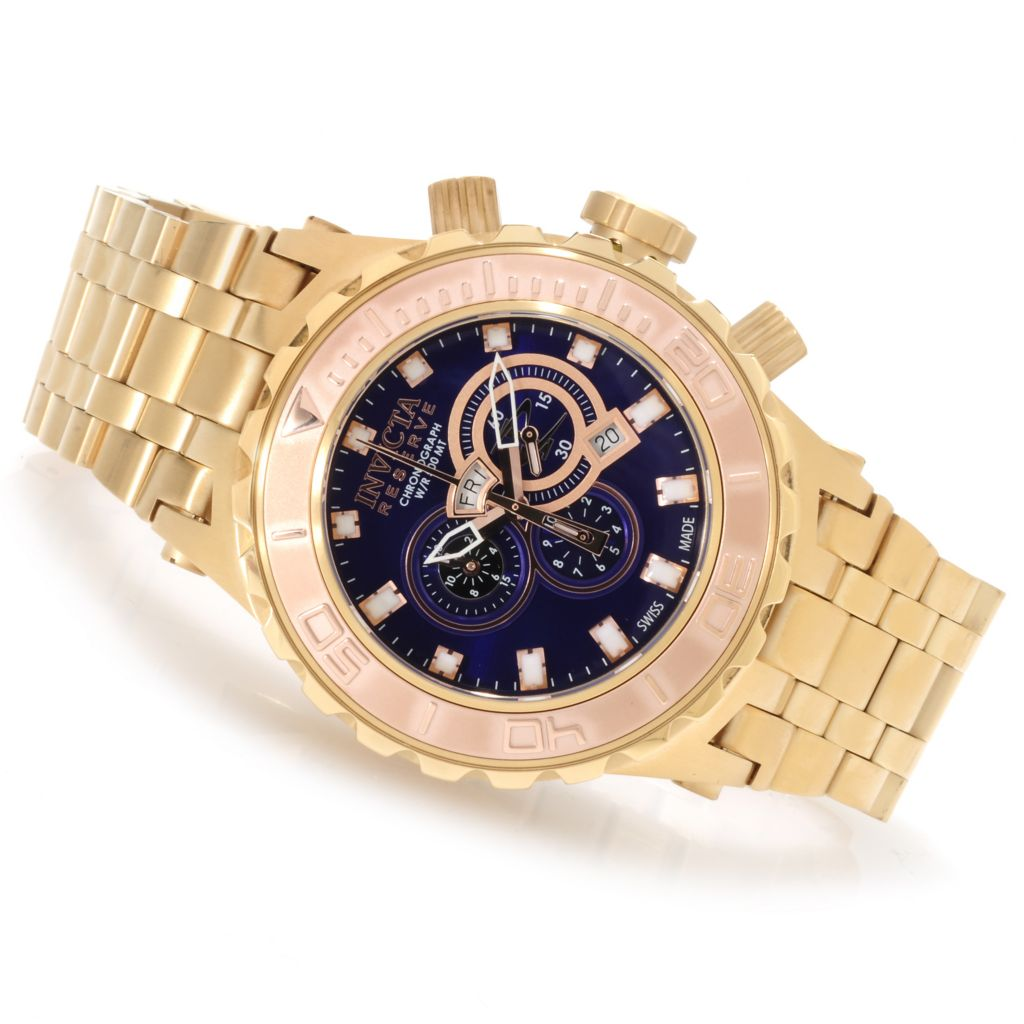 622-159 - Invicta Reserve Men's Specialty Subaqua Swiss Made Quartz Chronograph Bracelet Watch