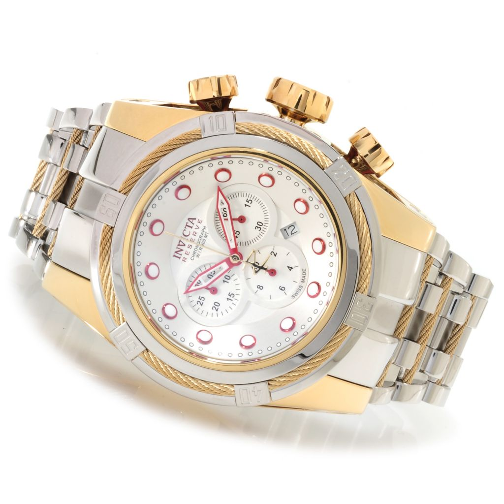 622-173 - Invicta Reserve Men's Bolt Zeus Swiss Made Quartz Chronograph Bracelet Watch