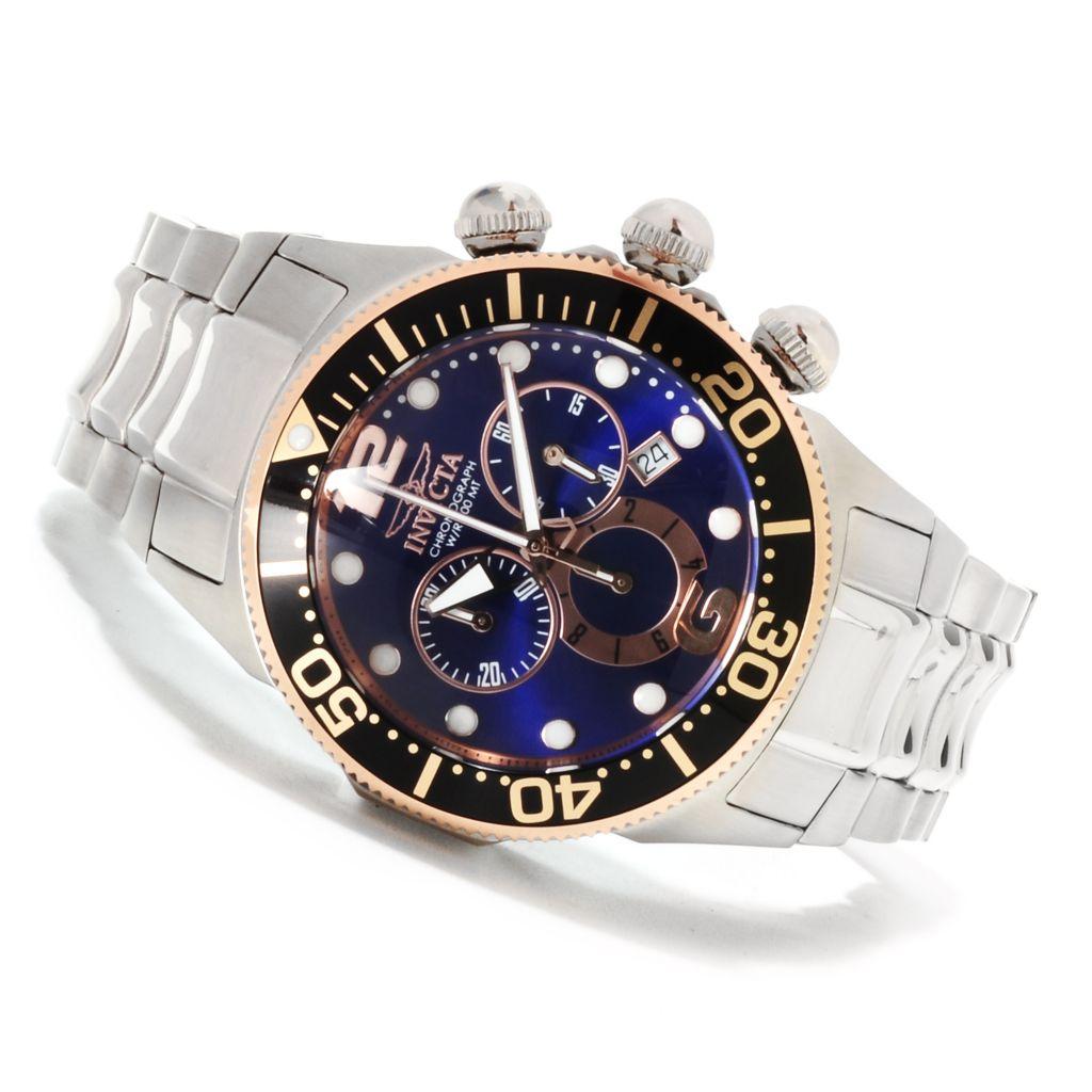622-179 - Invicta Men's Lupah Diver Quartz Chronograph Stainless Steel Bracelet Watch