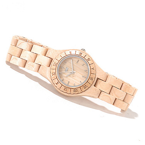 622-205 - WeWOOD Women's ''Moon'' Quartz Wooden Bracelet Watch