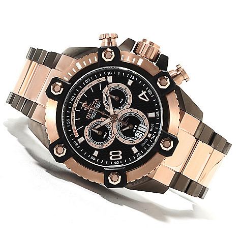 622-221 - Invicta Reserve 63mm Grand Octane Swiss Made Quartz Chronograph Stainless Steel Bracelet Watch