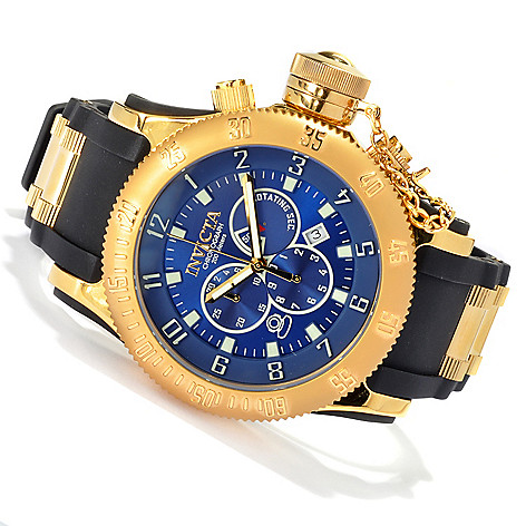 622-245 - Invicta Men's Russian Diver Off Shore Quartz Chronograph Polyurethane Strap Watch