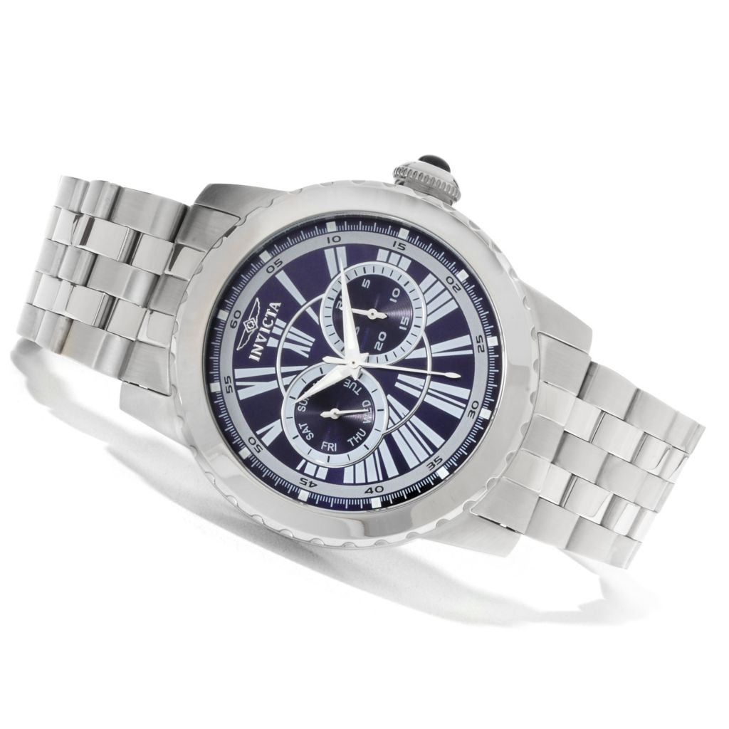 622-257 - Invicta Men's Specialty Quartz Day & Date Stainless Steel Bracelet Watch