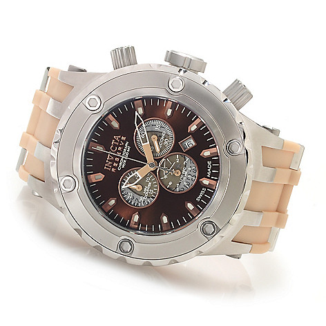 622-279 - Invicta Reserve Specialty Subaqua ''Puppy Edition'' Swiss Chronograph Polyurethane Strap Watch