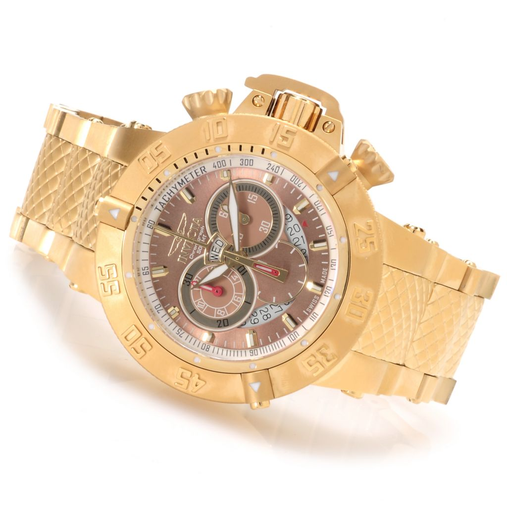 622-280 - Invicta Men's Subaqua Noma III Swiss Made Quartz Chronograph Bracelet Watch