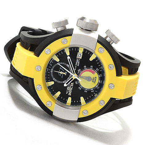622-299 - Invicta Men's S1 Rally Quartz Chronograph Stainless Steel Polyurethane Strap Watch