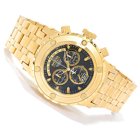 622-314 - Invicta Reserve 52mm Specialty Subaqua Swiss Made Quartz Chronograph Bracelet Watch