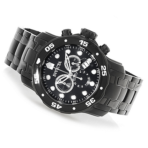 622-318 - Invicta Men's Pro Diver Scuba Quartz Chronograph Stainless Steel Bracelet Watch