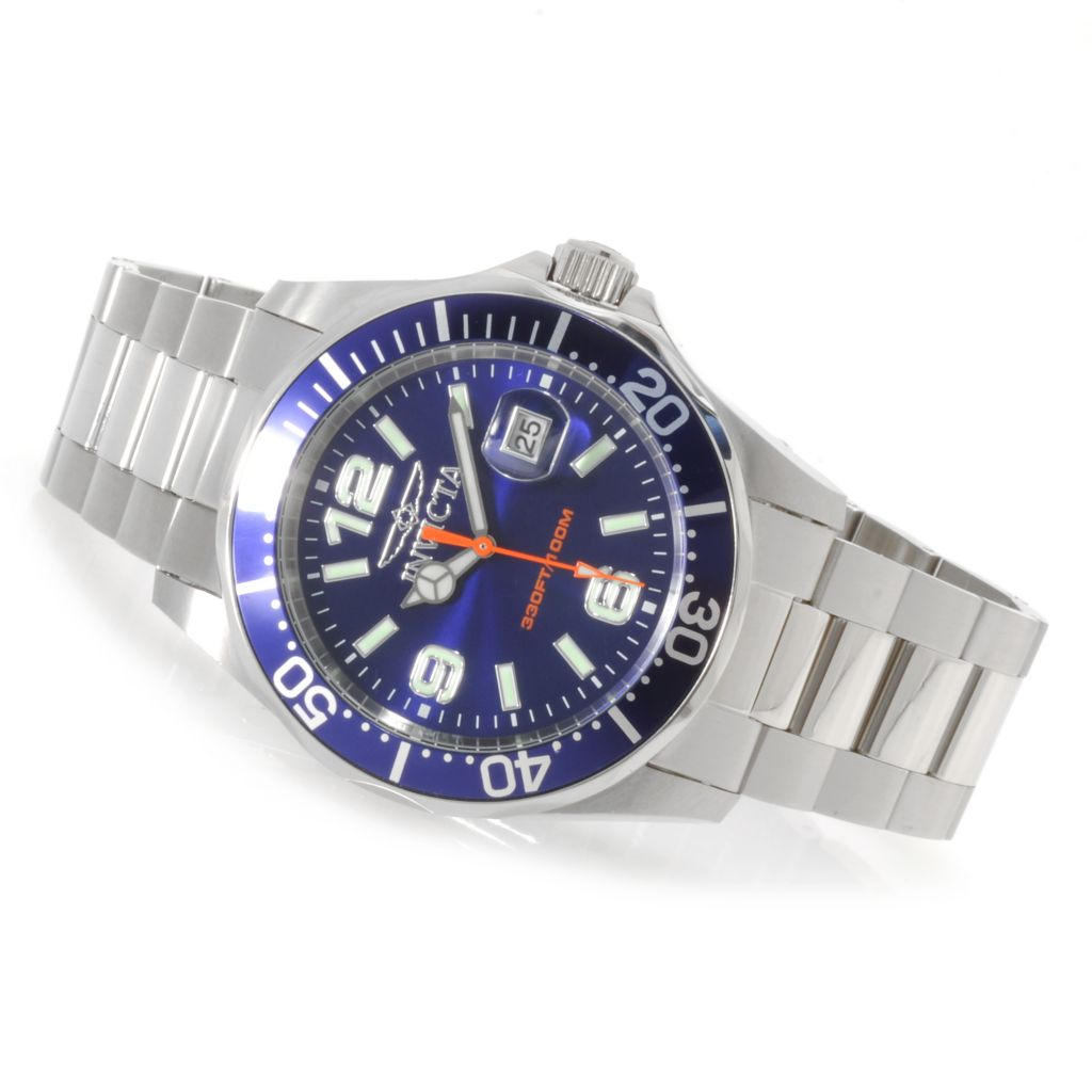 622-360 - Invicta Men's Pro Diver Quartz Stainless Steel Bracelet Watch
