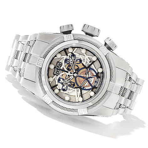 622-365 - Invicta Reserve Men's Bolt Zeus Swiss Made COSC Quartz Chronograph Bracelet Watch