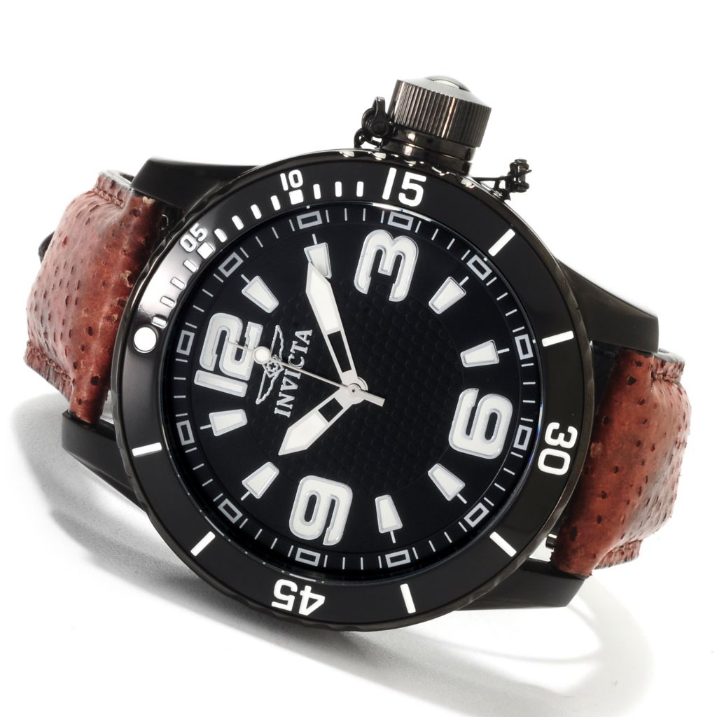 622-387 - Invicta Men's Corduba Diver Quartz Stainless Steel Wolffish Strap Watch