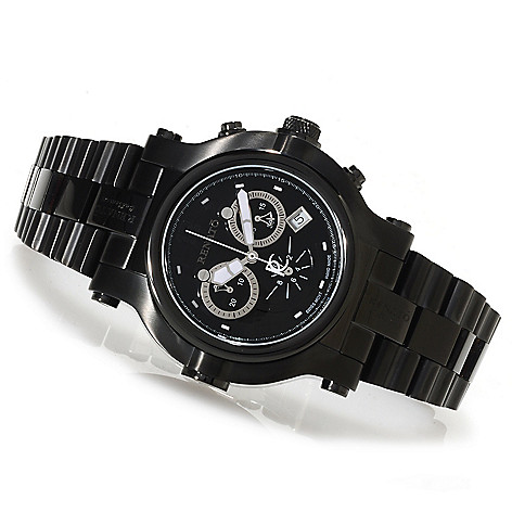 622-446 - Renato Men's Beast Limited Edition Swiss Made Quartz Chronograph Bracelet Watch