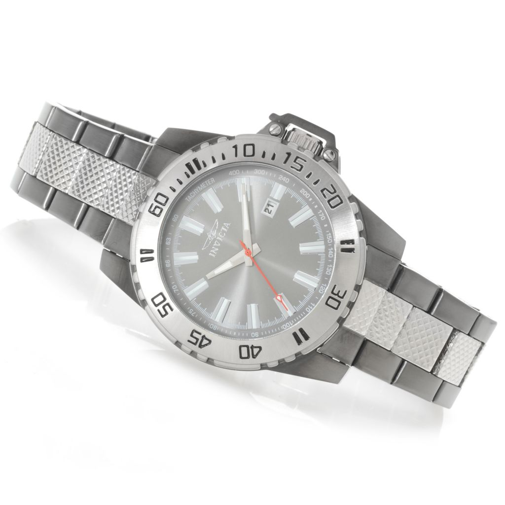 622-459 - Invicta Men's Specialty Python Quartz Stainless Steel Bracelet Watch