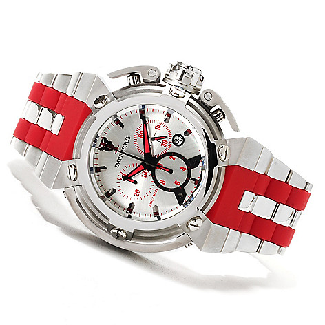 622-495 - Imperious Men's X-Wing Swiss Made Quartz Chronograph Stainless Steel Bracelet Watch