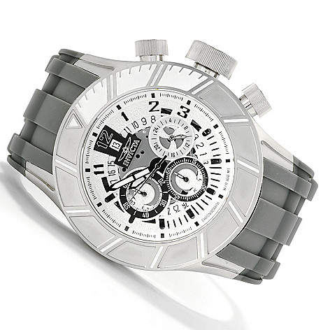622-528 - Invicta Men's Pro Diver Slicer Quartz Chronograph Stainless Steel Polyurethane Strap Watch