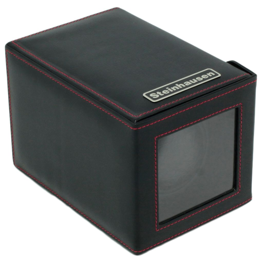 622-581 - Steinhausen 12-mode Single Polyurethane Leather Watch Winder