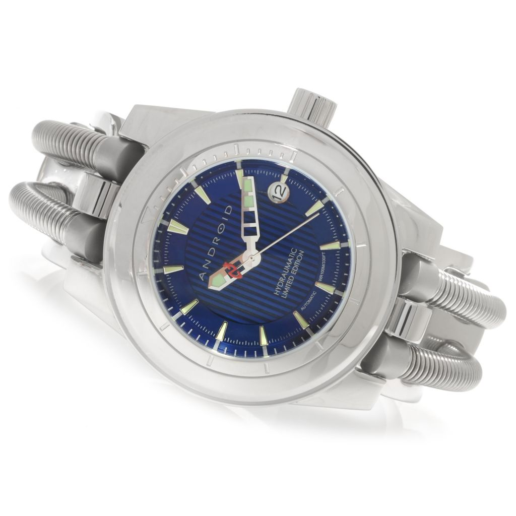 622-622 - Android Men's Hydraumatic Limited Edition Automatic Stainless Steel Cuff Watch