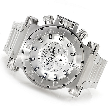 622-744 - Invicta Men's Coalition Forces Swiss Made Quartz Chronograph Bracelet Watch