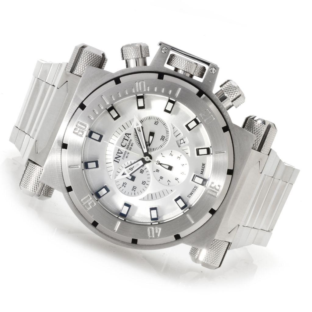 622-744 - Invicta Men's Coalition Forces Swiss Made Quartz Chronograph Bracelet Watch