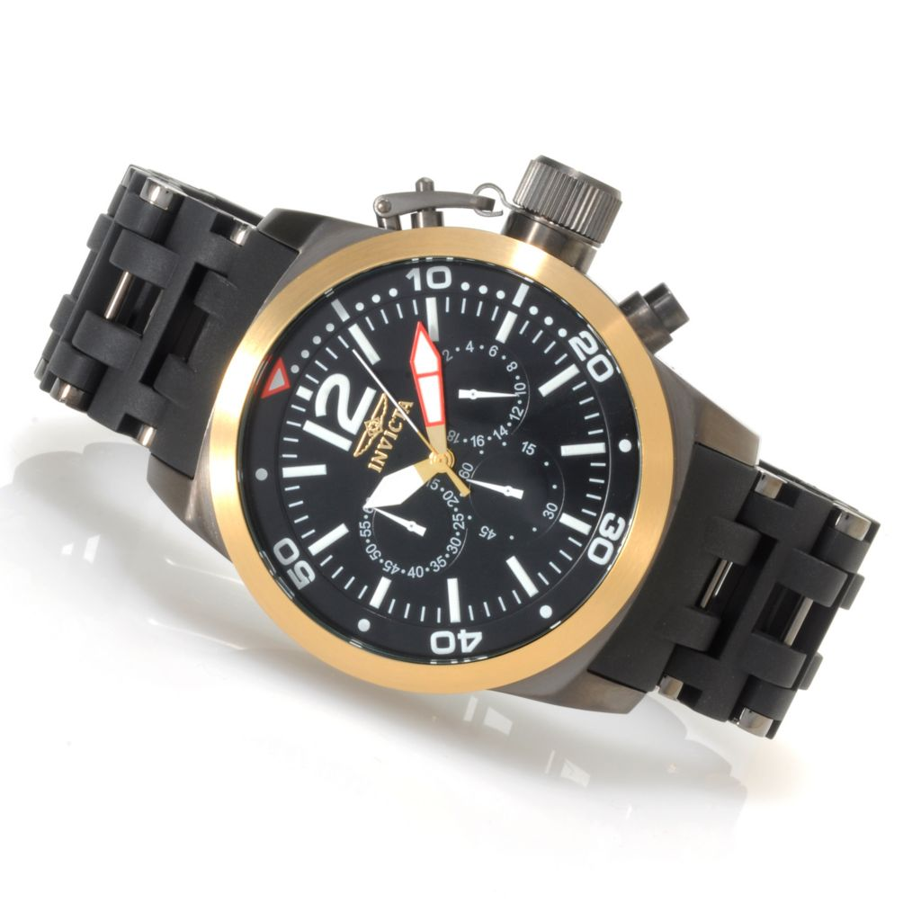 622-778 - Invicta Men's Sea Spider Quartz Chronograph Stainless Steel Bracelet Watch