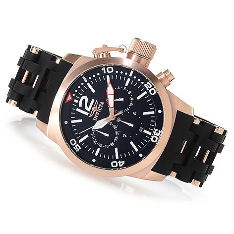 622-779 - Invicta 48mm Sea Spider Quartz Chronograph Stainless Steel Polyurethane Bracelet Watch