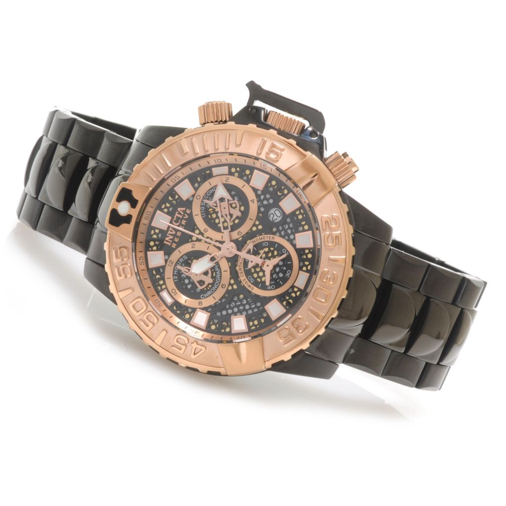 622-780 - Invicta 47mm Subaqua Noma II Swiss Made COSC Chronograph Bracelet Watch
