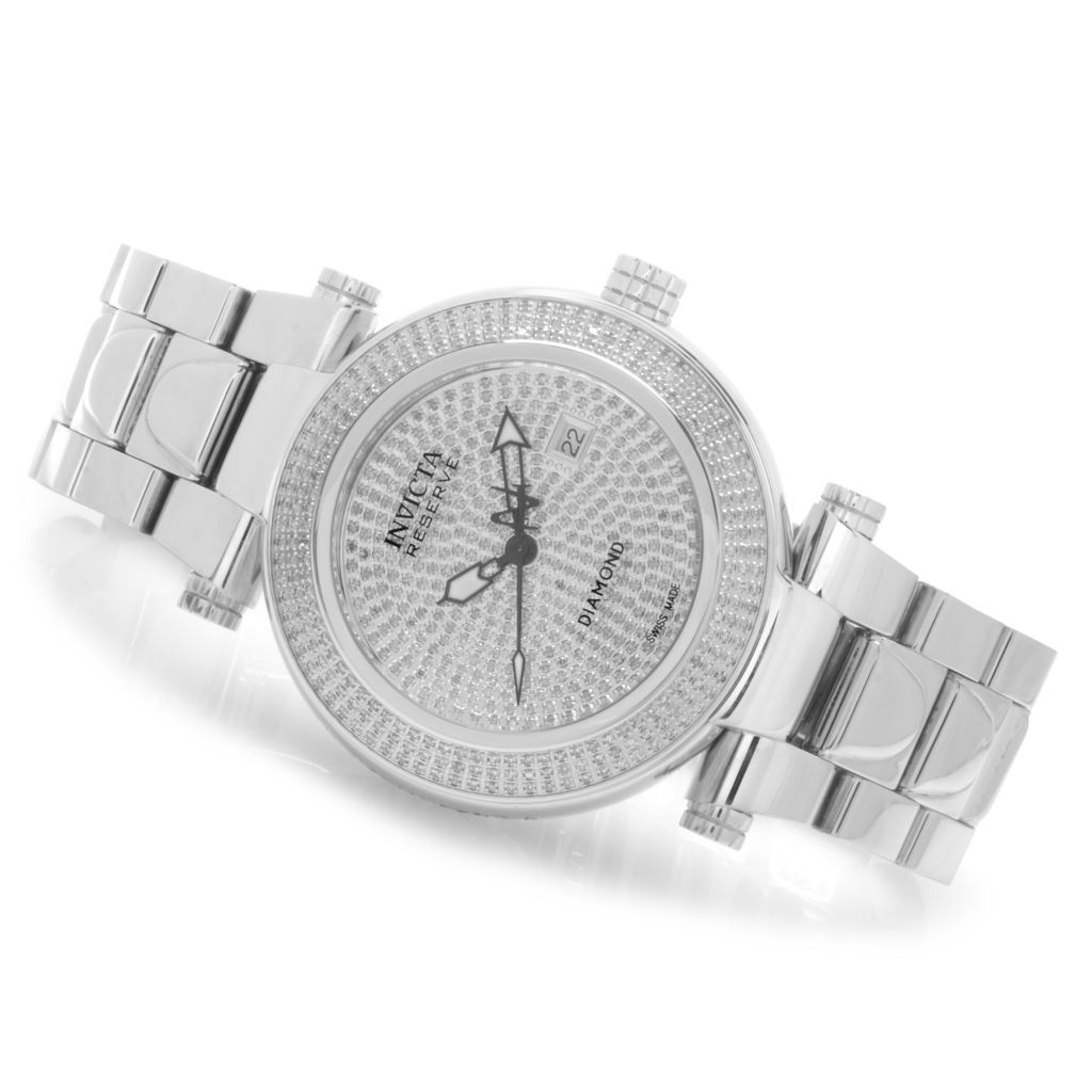 622-781 - Invicta Reserve Men's Subaqua Noma I Limited Edition Diamond Pave Dial Bracelet Watch