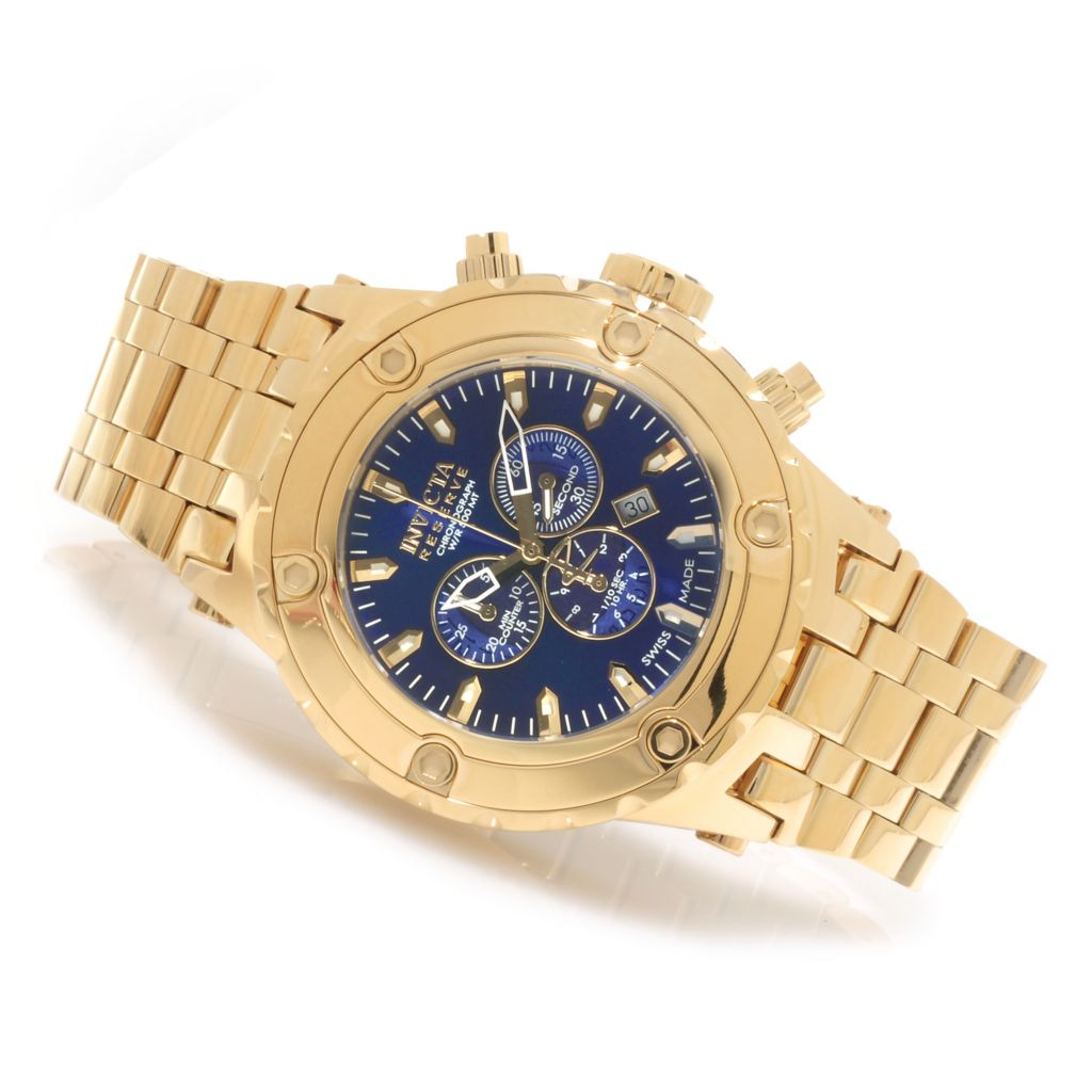 622-782 - Invicta Reserve Men's Specialty Subaqua Swiss Made Quartz Chronograph Bracelet Watch