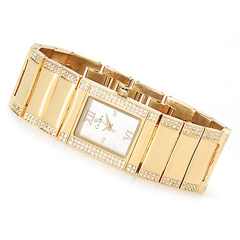 622-790 - Clara by CW Women's Quartz Bracelet Watch Made w/ Swarovski® Elements