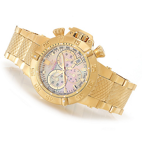 622-797 - Invicta Women's Jason Taylor Subaqua Noma III Bracelet Watch w/ Three-Slot Dive Case