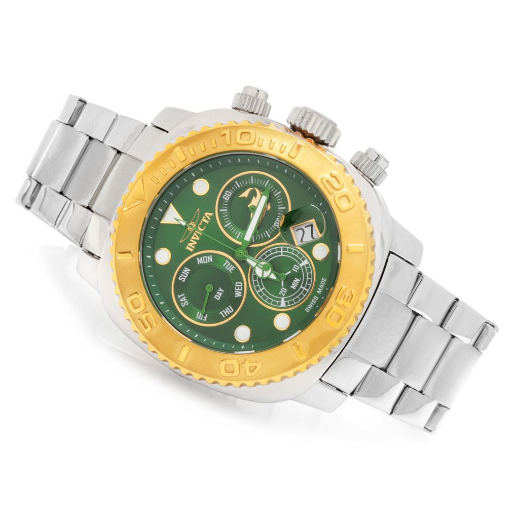 622-803 - Invicta 48mm Australian Pro Diver Swiss Chronograph Bracelet Watch