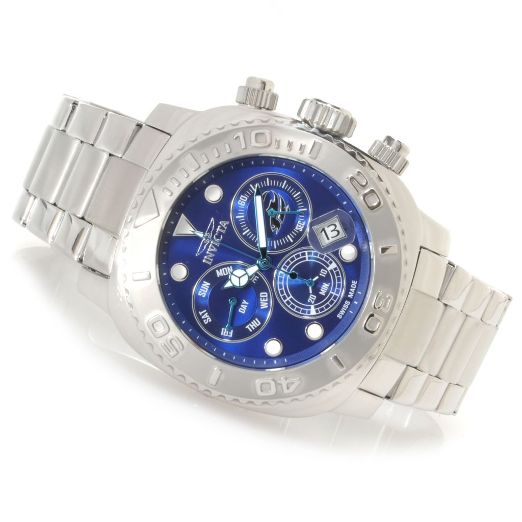 622-817 - Invicta 48mm Australian Pro Diver Swiss Chronograph Bracelet Watch