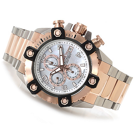 622-863 - Invicta Reserve A07 Automatic Chronograph Bracelet Watch w/ Three-Slot Dive Case