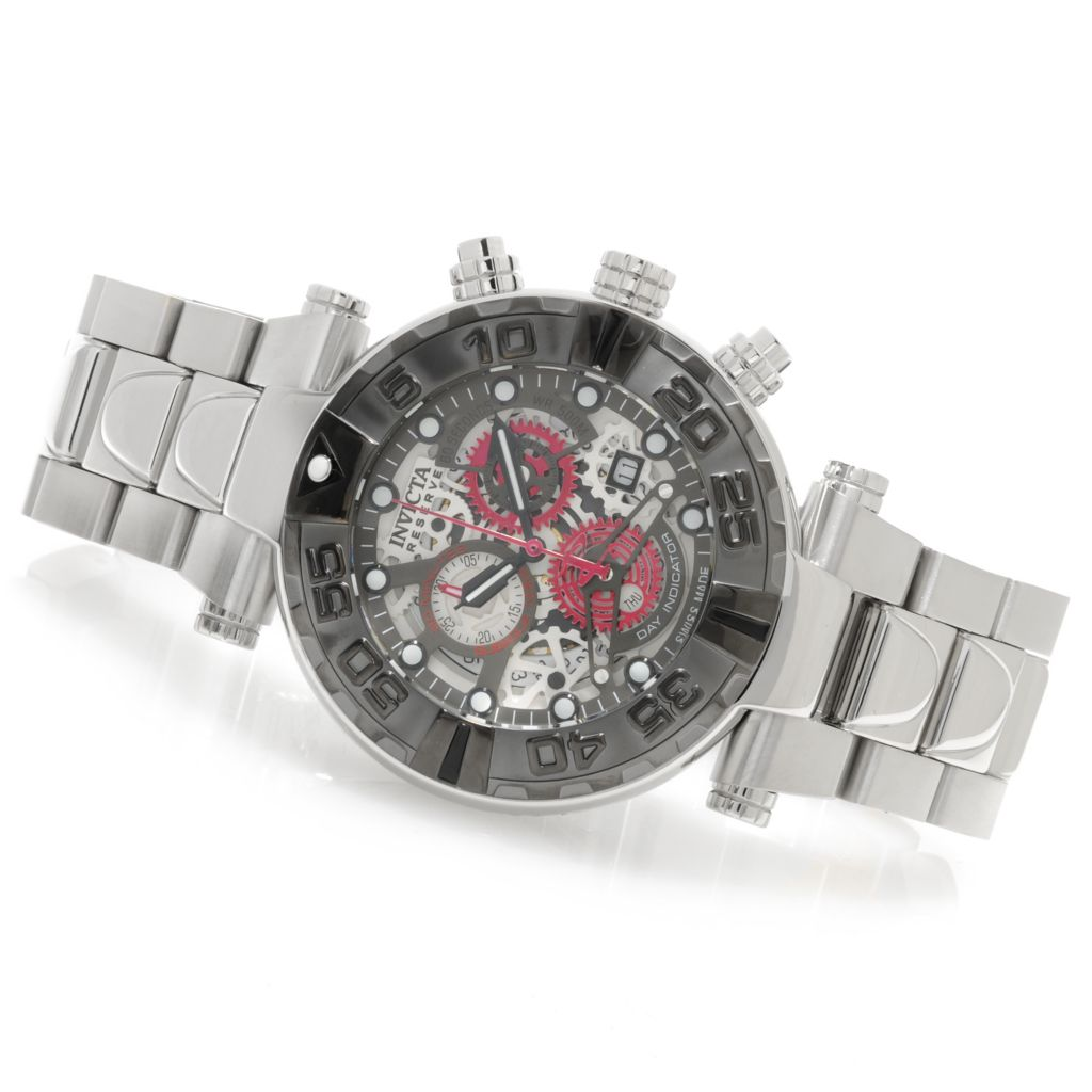 622-982 - Invicta Reserve 47mm Subaqua Noma I Swiss Made Chronograph Watch w/ Eight-Slot Dive Case