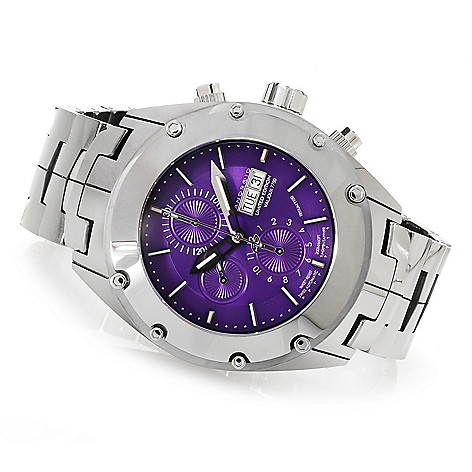 622-984 - Android Men's Virtuoso T100 Swiss Valjoux 7750 Limited Edition Automatic Tungsten Bracelet Watch
