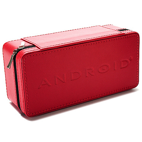 622-986 - Android Three-Slot Leatherette Travel Case