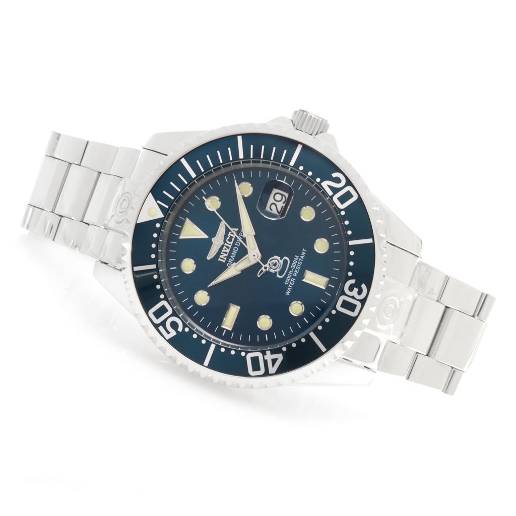 622-996 - Invicta 47mm Grand Diver Automatic Stainless Steel Bracelet Watch