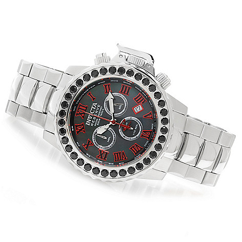 623-060 - Invicta Reserve 47mm Subaqua Noma II Swiss Made Black Spinel Bezel Bracelet Watch