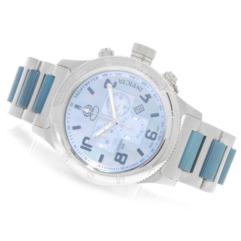623-147 - Invicta 52mm Off Shore Russian Diver Swiss Made Quartz Chronograph Bracelet Watch