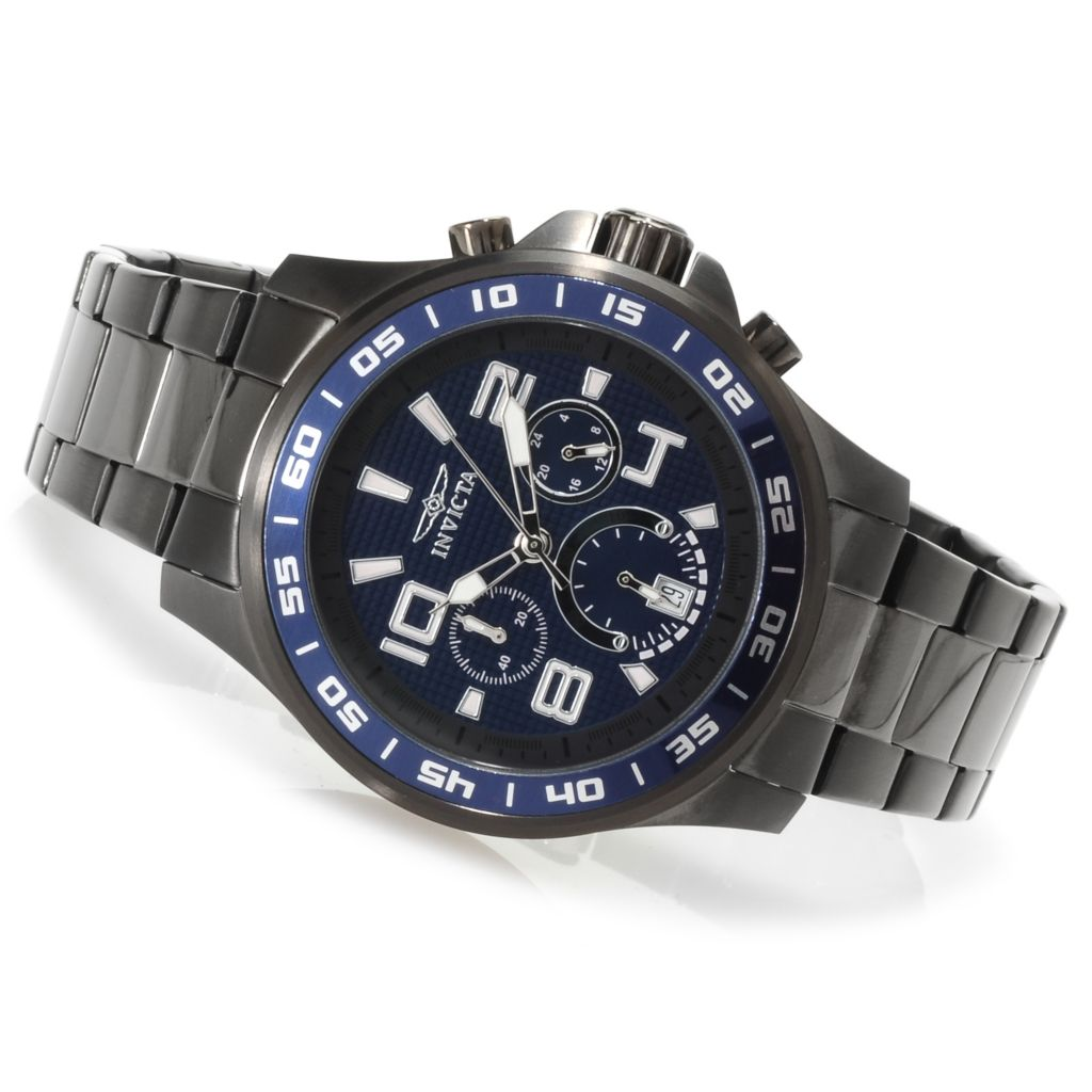 623-153 - Invicta Men's Specialty Quartz Chronograph Stainless Steel Bracelet Watch