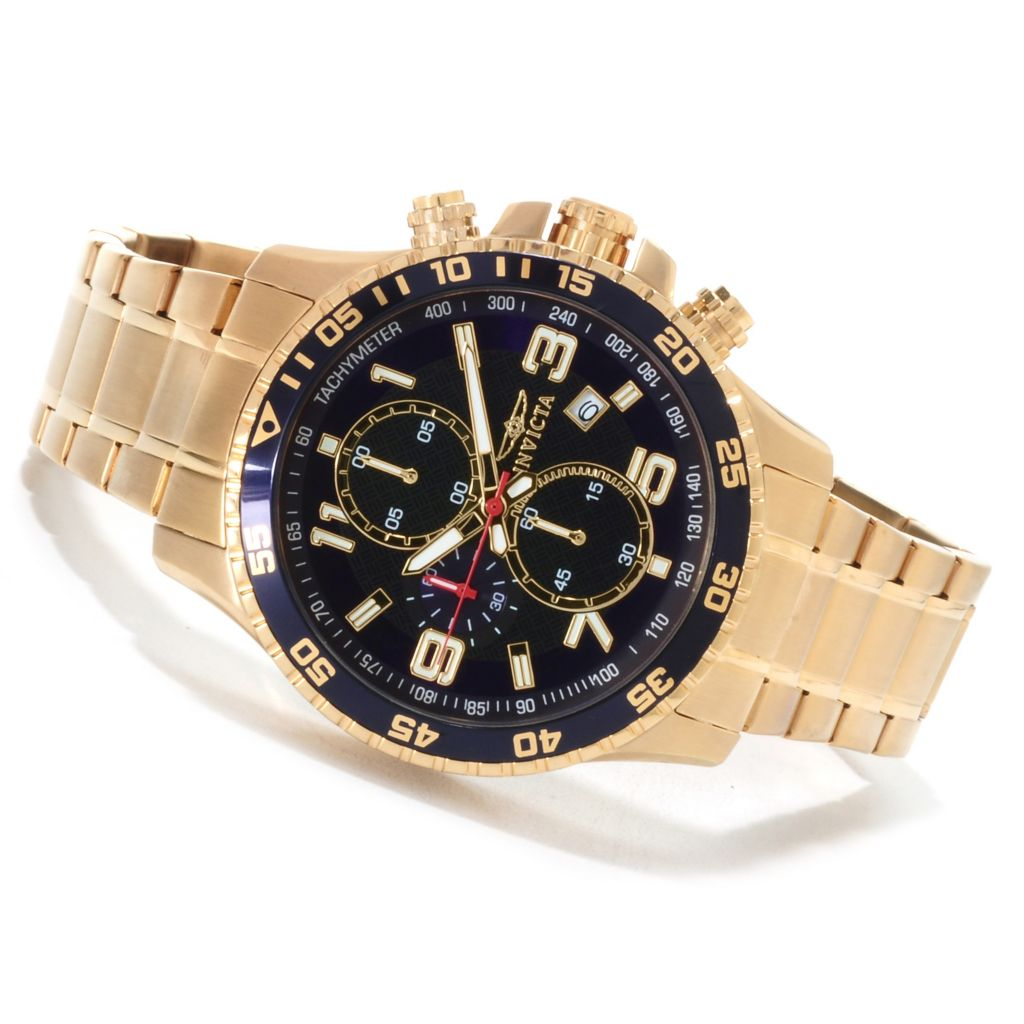 623-212 - Invicta Men's Specialty Quartz Chronograph Bracelet Watch w/ Eight-Slot Dive Case
