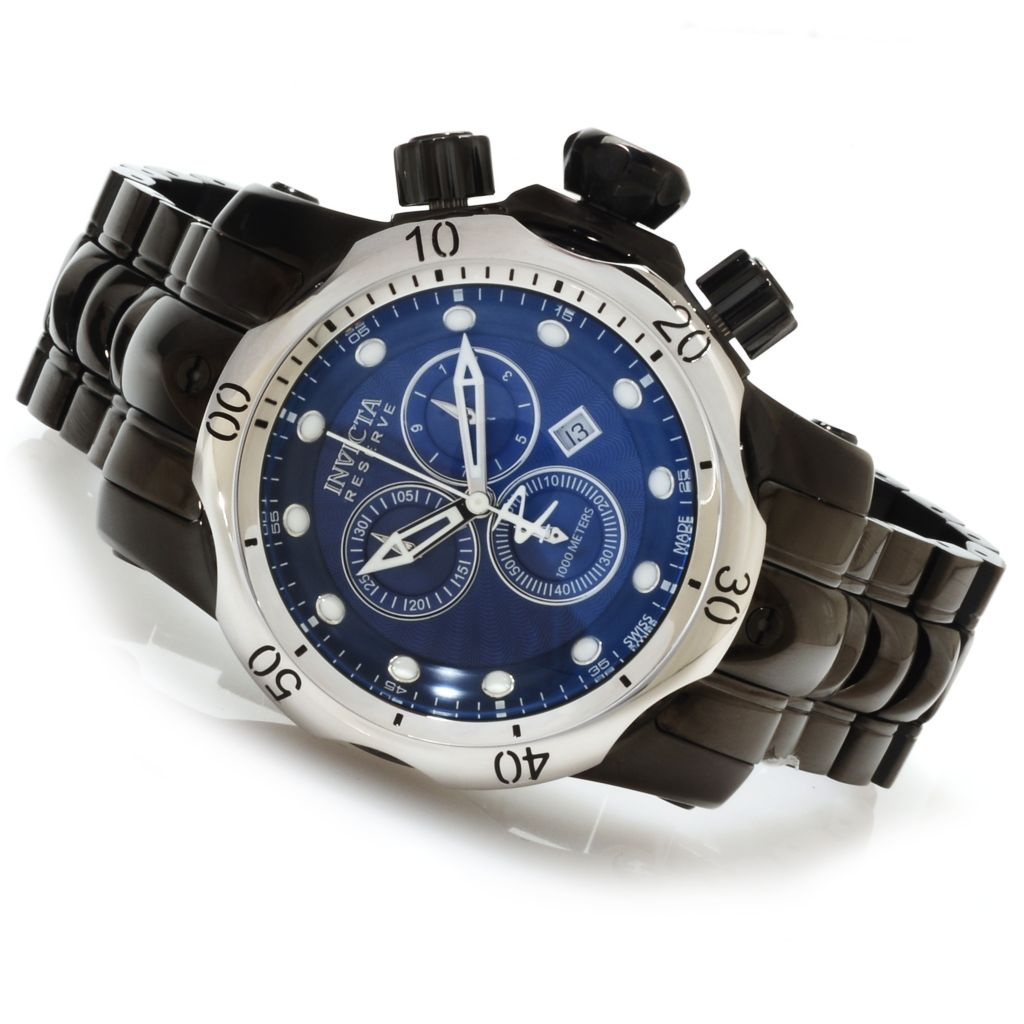 623-214 - Invicta Reserve Mid-Size Venom Swiss Made Quartz Chronograph Bracelet Watch